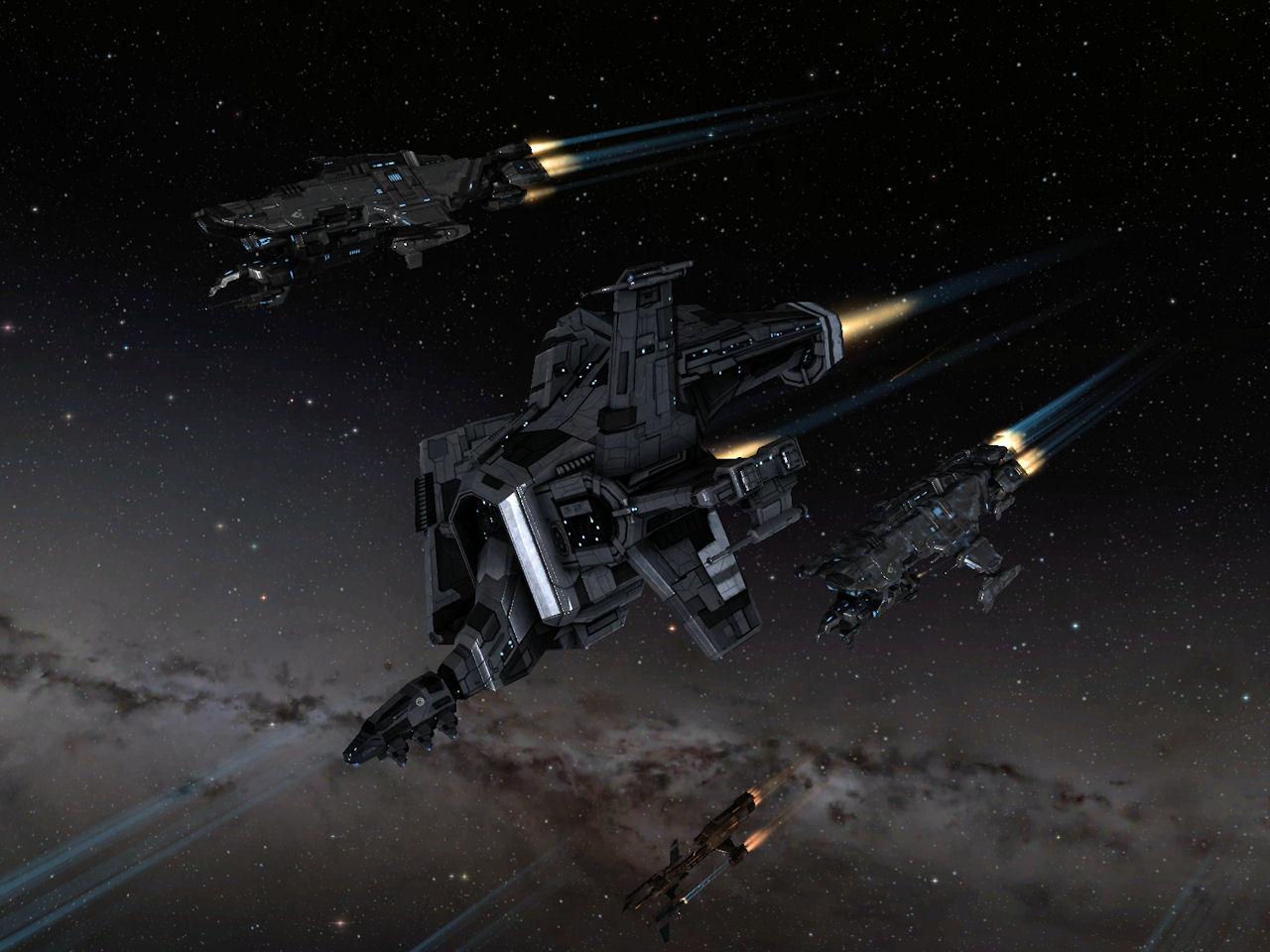 Osprey In Fleet Eve Online Pictures
