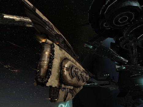 Big ships on the undock