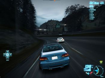M3 in the race