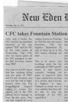 CFC Takes Fountain Station