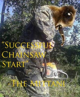 Chainsaw Start