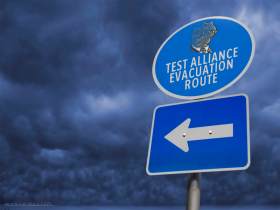 TEST Alliance Evacuation Route