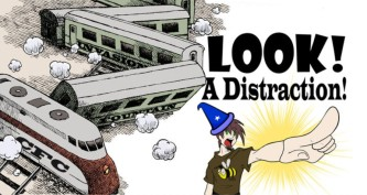 Look! A Dsitraction