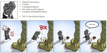Literally North Korea