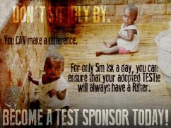 Become a TEST Sponsor...