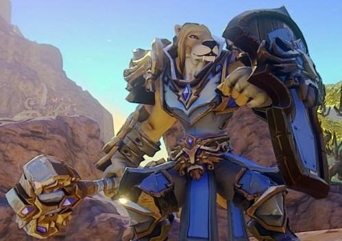 Kerra in Stormwind Armor