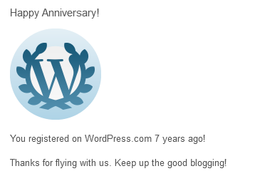 WordPress sends their regards
