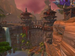 One of the Orgrimmar gates
