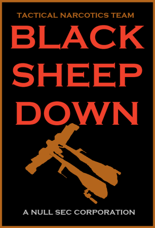 EVE Online Black Sheep Down