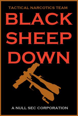 EVE Online Black Sheep Down
