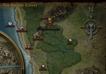 Dreadmines, near the Sword Coast
