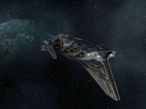 A Talos Battlecruiser
