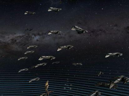 Talos Fleet forming up
