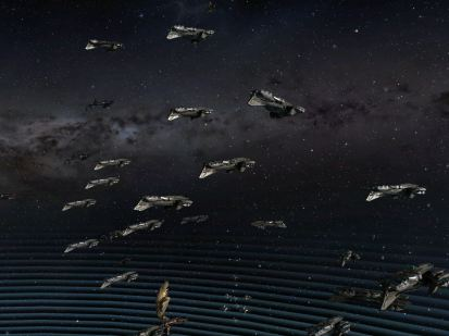 Talos Fleet forming up