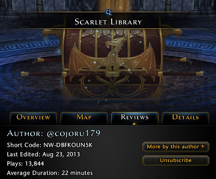 Scarlet Library Neverwinter