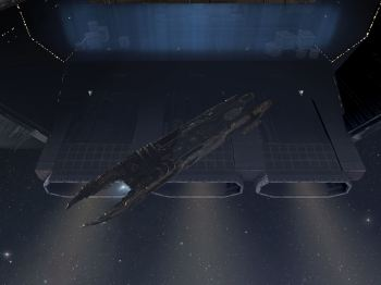 My first carrier undock