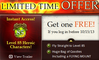 EverQuest II Heroic Offer