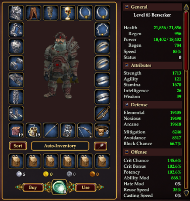 Fresh Heroic Dwarf