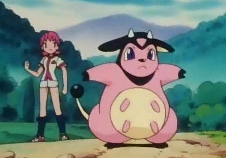Yes Miltank is a cow Pokemon