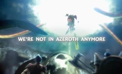 No, not Azeroth!