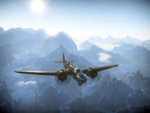 Blenheim aloft