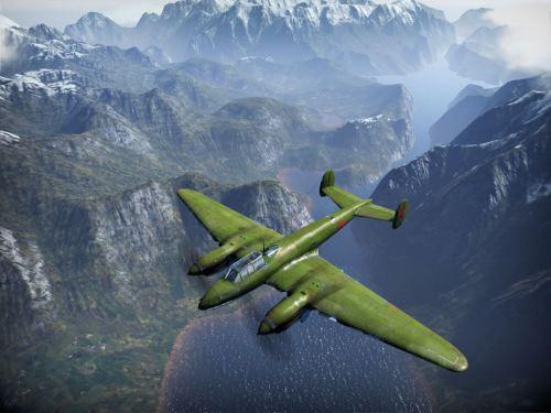 Pe-2 in Flight