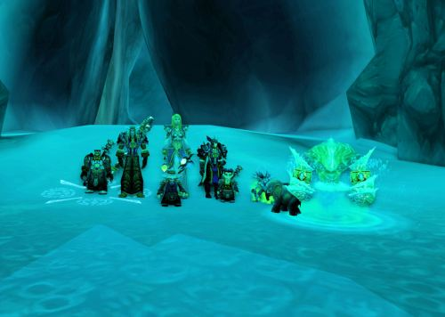 Greeting from Icecrown Citadel!