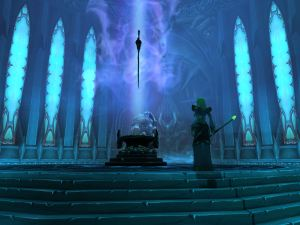 The Lich King and his sword