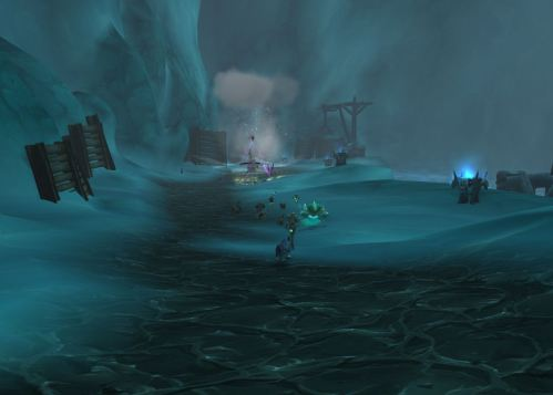 The Lich King on our trail