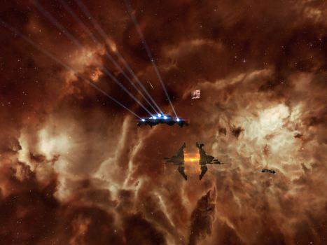 That orange nebula south of Hek