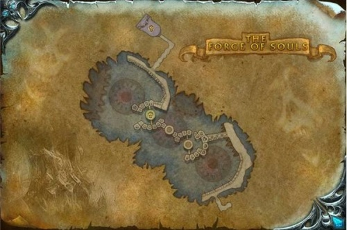 An Old Forge of Souls map