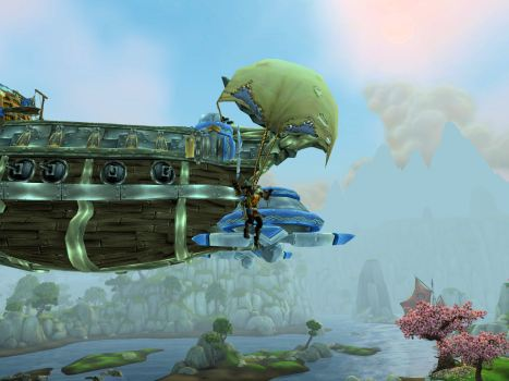 No, really, jumping into Pandaria