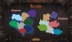 A Better Draenor vs. Outland map