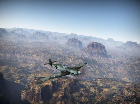 Messerschmitt's fighter