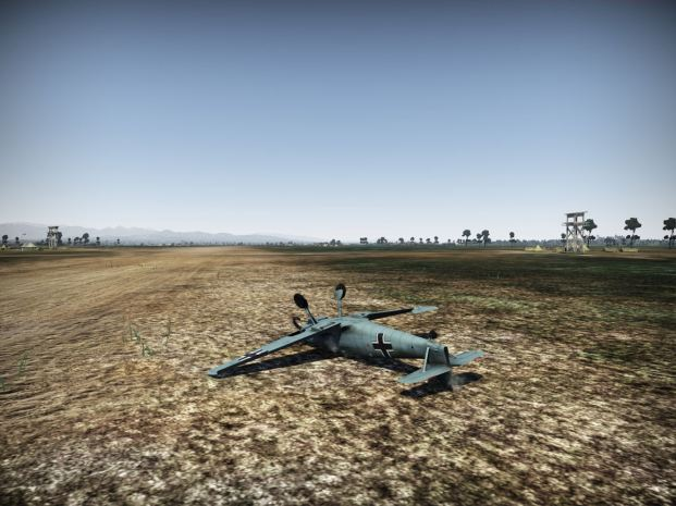 Another failed landing in the Bf-109
