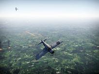 An F4F in a fight