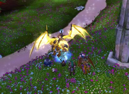 Portal out of Mount Hyjal