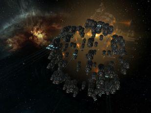 Fleet landing on a gate