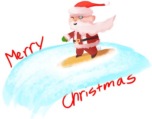 Santa at Play