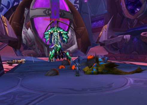 And here we see Harbinger Skyriss...