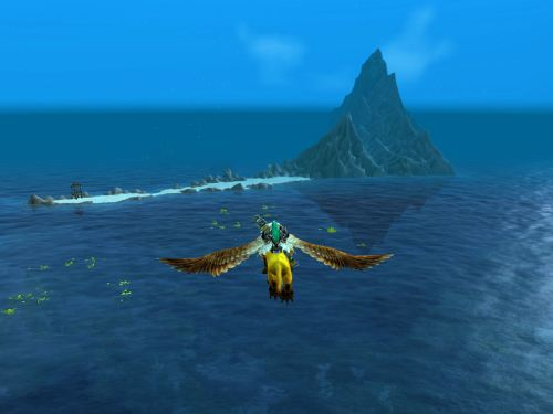 Flying in to Vashj'ir