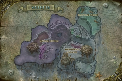Vashj'ir Map