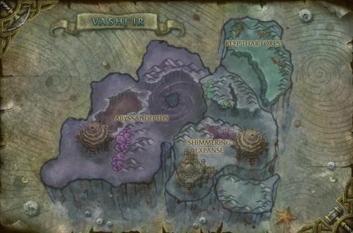 Vashj'ir Map