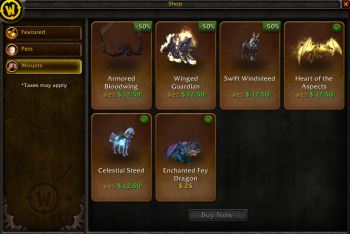 Mounts for Sale