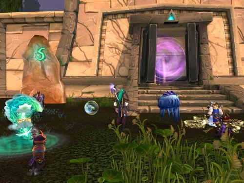 Out by the Tol'vir summoning stone