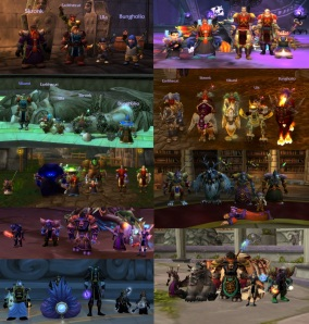 Through the years in Azeroth
