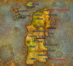 The Horde - More Centrally located
