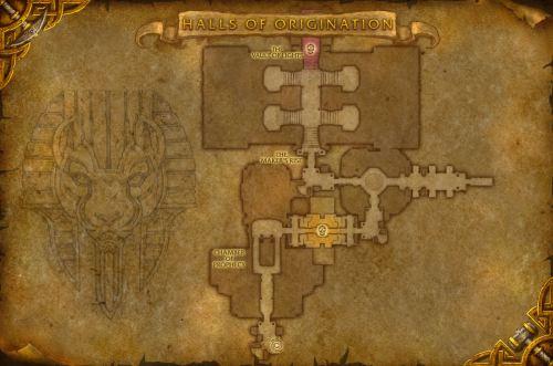 Halls of Origination - First Floor