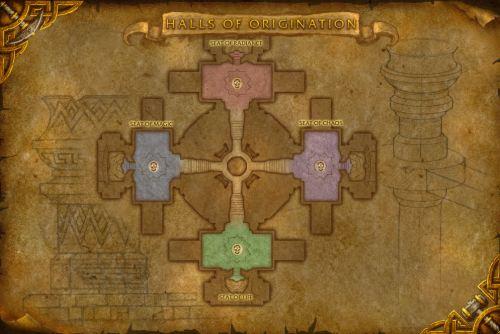 Halls of Origination - Second Floor