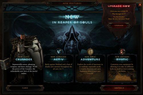 Reaper of Souls info